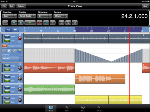 Meteor Daw For iPad