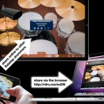Ratatap Drum App For iPad