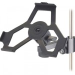 K&#038;M Clamp On Mic Stand Holder For iPad
