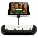 Footswitch controller for iPad