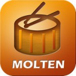 Molten Drum Machine Logo