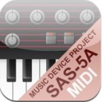 SAS-5A Virtual Analog Synth For iPad