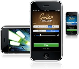 Jam along with your guitar and an iPhone or iPad