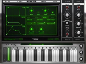 Moog Animoog iPad Synth App