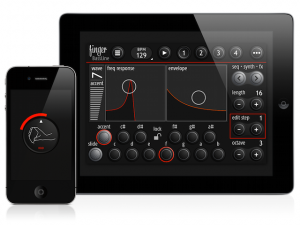 finger bassline app screenshot