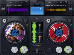 Deckadance Mobile Dj App For iPad