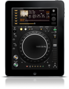 Touch CDJ Pro Dj App For iPad