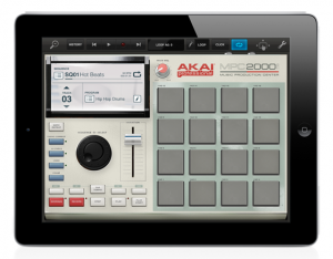 Akai MPC2000 App For iPad
