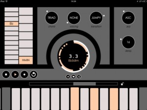 iPad Changeling Sequencer Screenshot