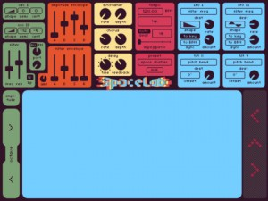 Spacelab Synthesizer Screenshot 2