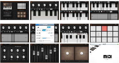 Midi Studio For iOS Screenshot