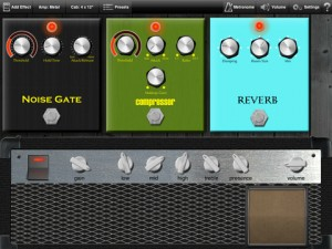 Real-time guitar effects for iOS devices