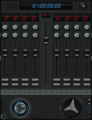LiveRig Midi Controller For iPad