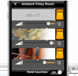 Ambient Foley Room App