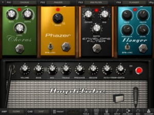 Amplitube Stomp Boxes For iPad