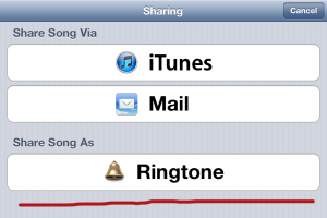 Garageband iPhone Ringtone Tutorial Step 2