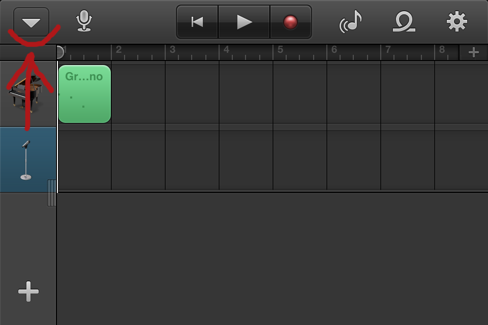 make a ringtone in garageband from itunes