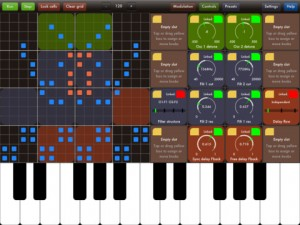 WOPR iPad Synth Screen Shot