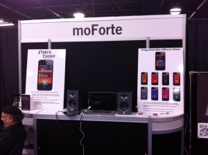 moForte Guitar App For iOS Winter NAMM 2013