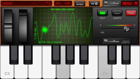 Magellan Jr iPhone Synthesizer