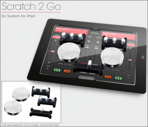 Ion Scratch 2 Go iPad Dj Accessories