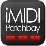 iMidi Patchbay iPad