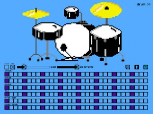 8 bit drums screenshot