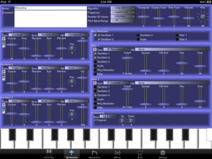 Unity Synthesizer Screenshot