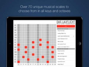 Das Lauflicht Midi Sequencer For iPad