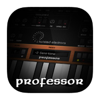 Professor iPad Synthesizer