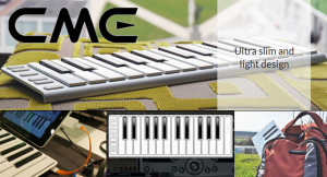 CME Xkey Mobile Midi Keyboard