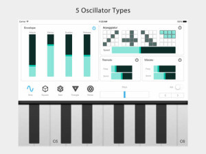 Algorithm Synth For iPad