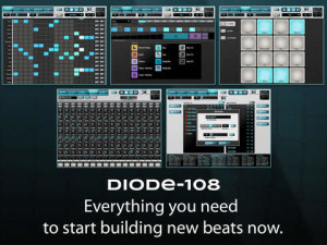 Diode-108 iPad Drum Machine