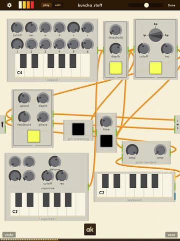AnalogKit Modular Synthesizer For iPad