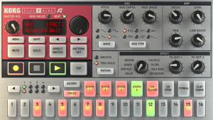 Korg iElectribe iPhone screenshot