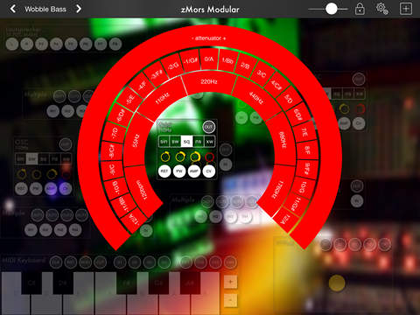 zMors Modular Synthesizer For iPad