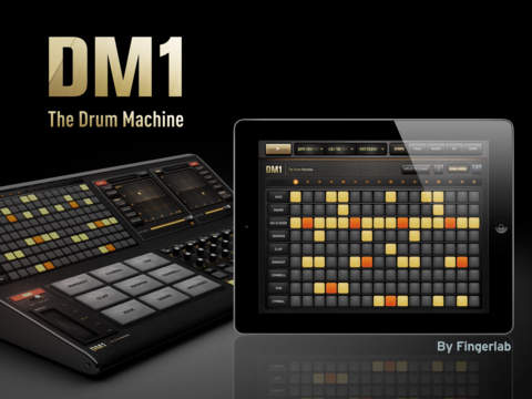 DM1 Drum Machine For iPad