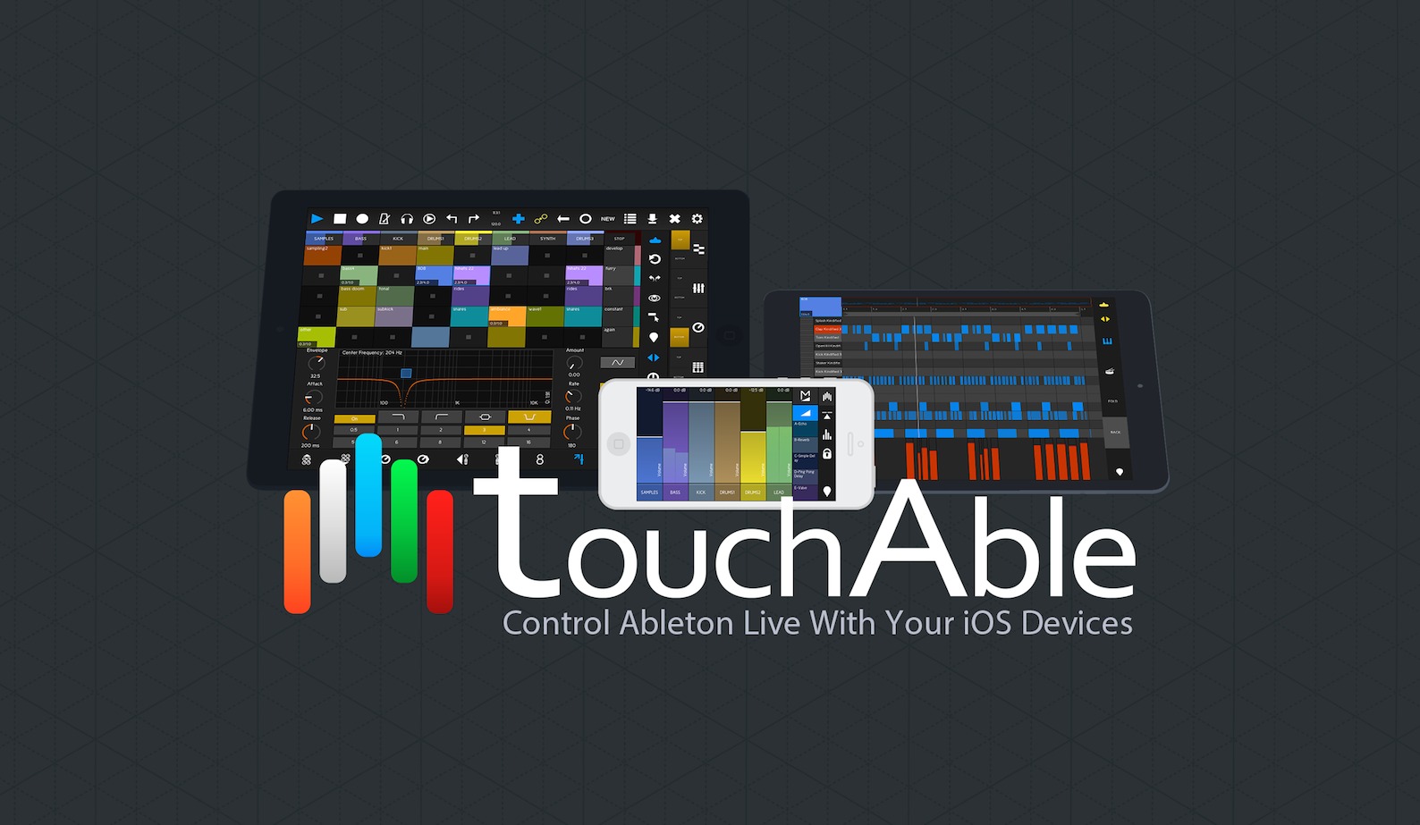 Touchable 3 Ableton Live iPad Controller | iPad Music Apps