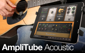 Amplitube Acoustica Guitar Pickup and App