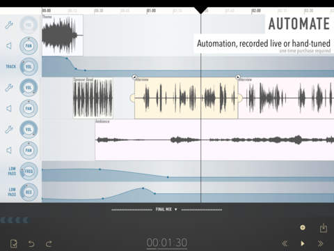 Ferrite Recording Studio For iPad