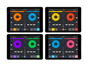 Change colors Dj app