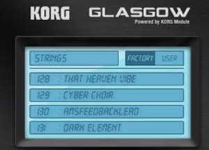 Korg Triton Sounds Glasgow