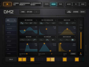 DM2 Drum Synthesizer Machine For iPad