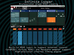 Infinite Looper Midi Learn