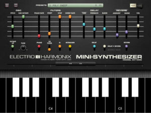 Electro Harmonix Mini-Synthesizer App