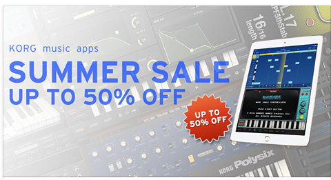 Korg Apps On Sale
