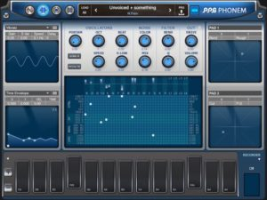 PPG Phonem Voice Synthesizer For iPad