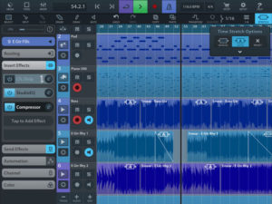 Cubasis 2 iPad DAW Features Time Stretching And More | iPad