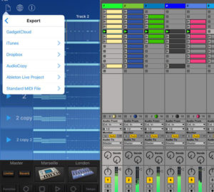 Export Gadget songs to Ableton Live set.