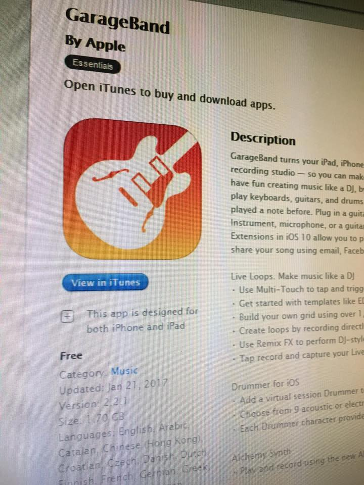 Free Garageband For iPhone and iPad | iPad Music Apps Blog